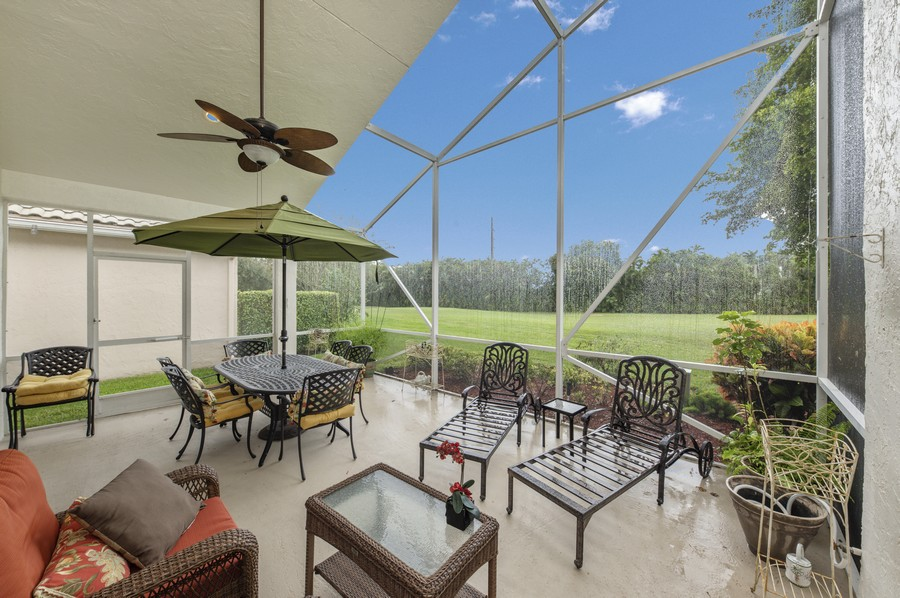Real Estate Photography - 11877 Fountainside Circle, Boynton Beach, FL, 33437 - Patio