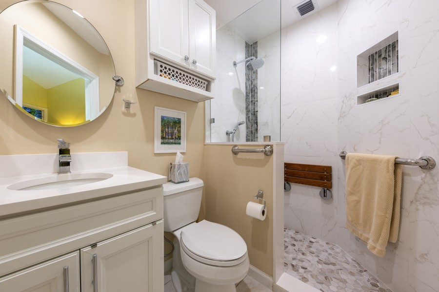 Real Estate Photography - 11877 Fountainside Circle, Boynton Beach, FL, 33437 - 3rd Bathroom