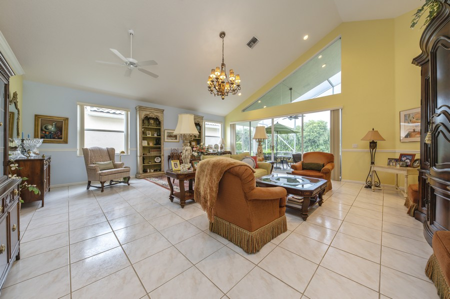 Real Estate Photography - 11877 Fountainside Circle, Boynton Beach, FL, 33437 - Living Room / Dining Room