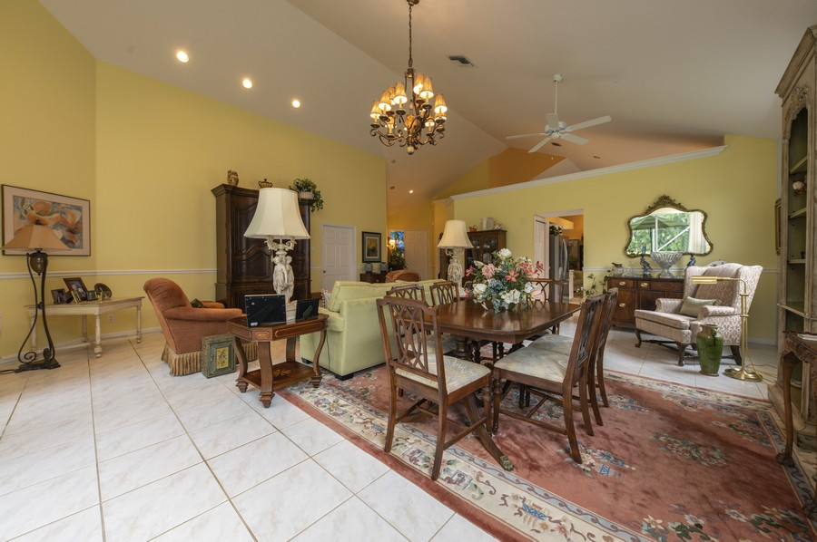 Real Estate Photography - 11877 Fountainside Circle, Boynton Beach, FL, 33437 - Living Room/Dining Room