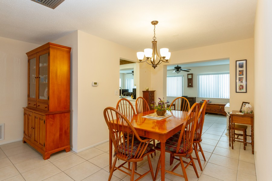 Real Estate Photography - 3811 97th Avenue N, Pinellas Park, FL, 33782 - Dining Room