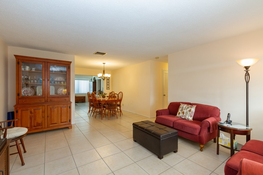 Real Estate Photography - 3811 97th Avenue N, Pinellas Park, FL, 33782 - Living Room / Dining Room