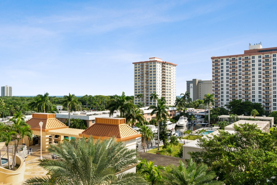 Real Estate Photography - 2845 NE 9th St., Unit 601, Fort Lauderdale, FL, 33304 - View