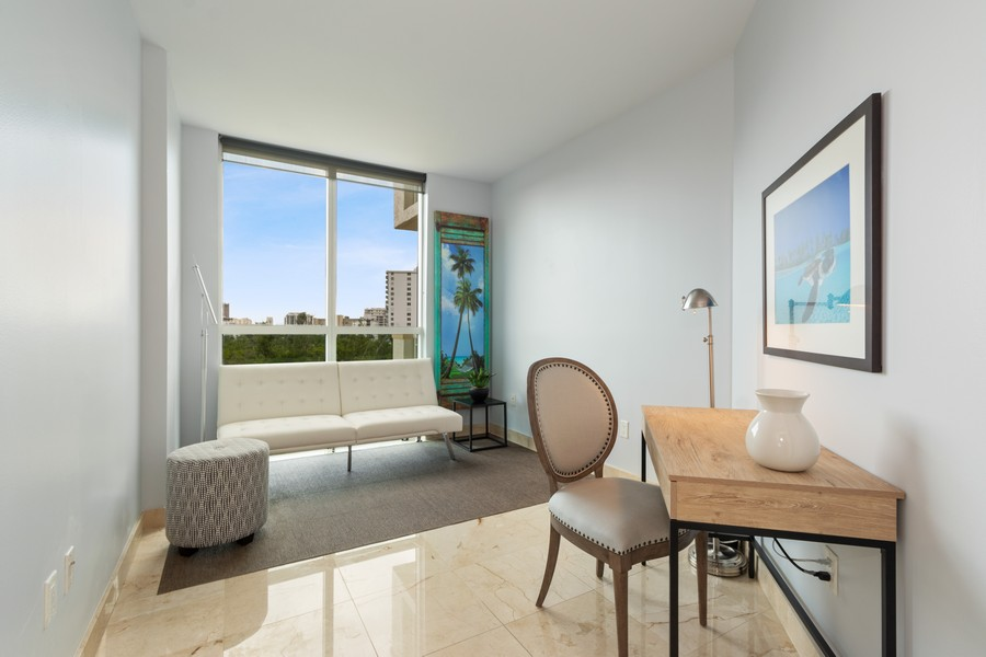 Real Estate Photography - 2845 NE 9th St., Unit 601, Fort Lauderdale, FL, 33304 - 3rd Bedroom/Den/Office