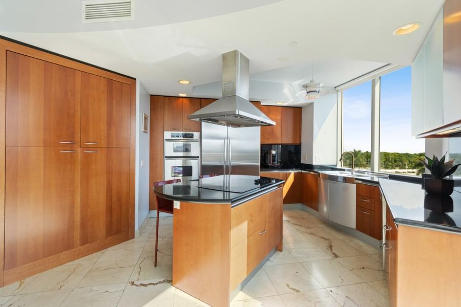 Real Estate Photography - 2845 NE 9th St., Unit 601, Fort Lauderdale, FL, 33304 - Kitchen