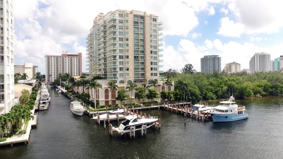 Real Estate Photography - 2845 NE 9th St., Unit 601, Fort Lauderdale, FL, 33304 - Condos and Marina