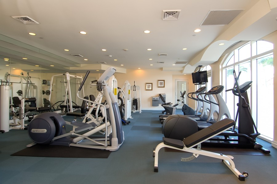 Real Estate Photography - 2845 NE 9th St., Unit 601, Fort Lauderdale, FL, 33304 - Gym