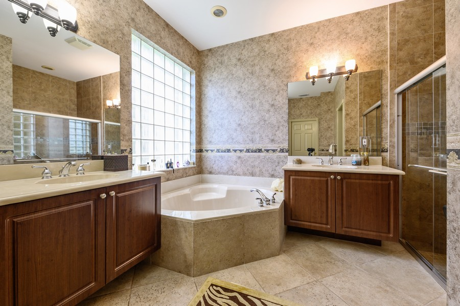Real Estate Photography - 8775 Palm River Dr, Lake Worth, FL, 33467 - Master Bathroom