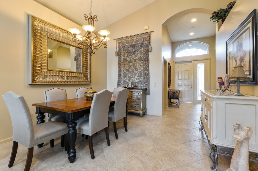 Real Estate Photography - 8775 Palm River Dr, Lake Worth, FL, 33467 - Foyer/Dining Room