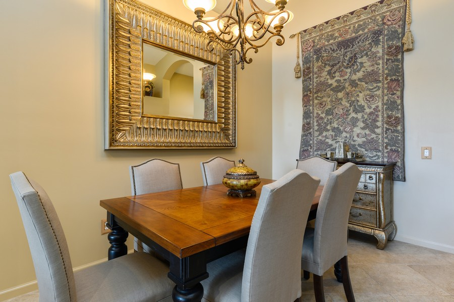 Real Estate Photography - 8775 Palm River Dr, Lake Worth, FL, 33467 - Dining Room