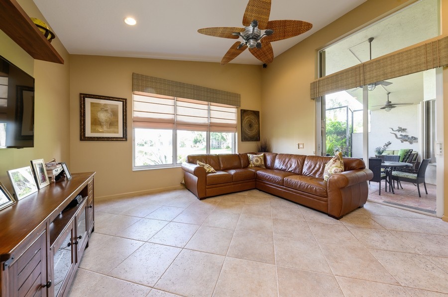 Real Estate Photography - 8775 Palm River Dr, Lake Worth, FL, 33467 - Family Room