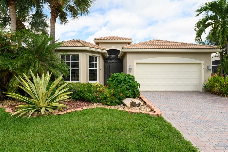 Real Estate Photography - 8775 Palm River Dr, Lake Worth, FL, 33467 - Front View