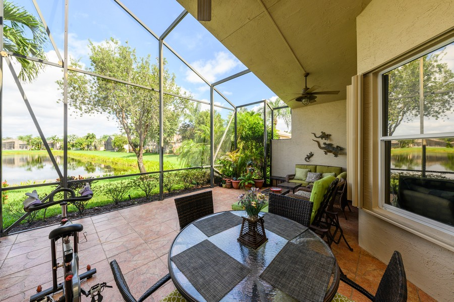 Real Estate Photography - 8775 Palm River Dr, Lake Worth, FL, 33467 - Patio