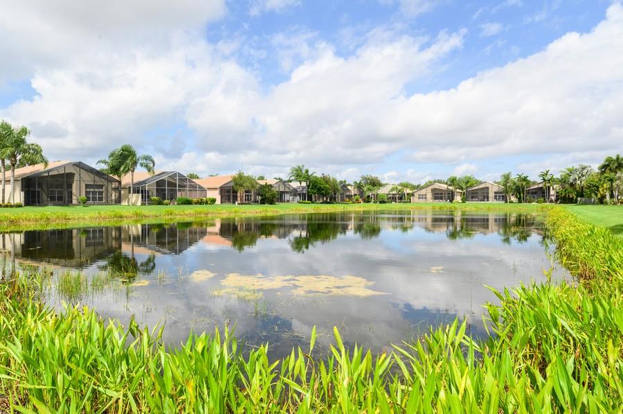 Real Estate Photography - 8775 Palm River Dr, Lake Worth, FL, 33467 - Lake View