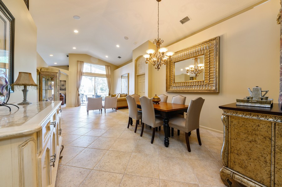 Real Estate Photography - 8775 Palm River Dr, Lake Worth, FL, 33467 - Living Room / Dining Room