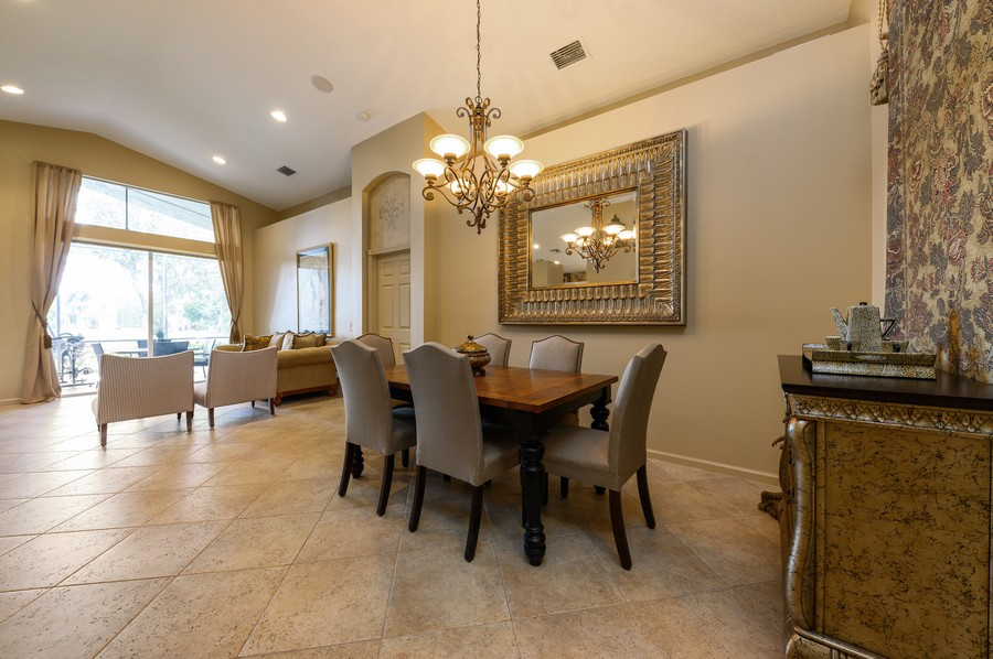 Real Estate Photography - 8775 Palm River Dr, Lake Worth, FL, 33467 - Living Room/Dining Room
