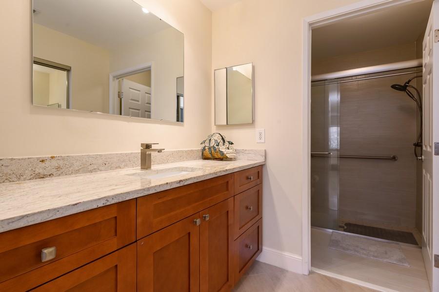 Real Estate Photography - 8092 Sweetbriar Way, Boca Raton, FL, 33496 - Master Bathroom