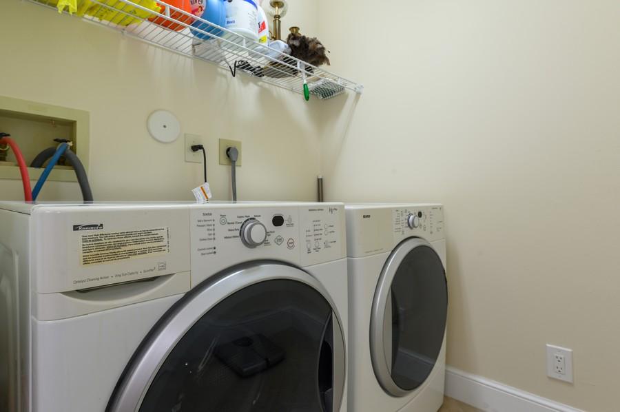 Real Estate Photography - 8092 Sweetbriar Way, Boca Raton, FL, 33496 - Laundry Room