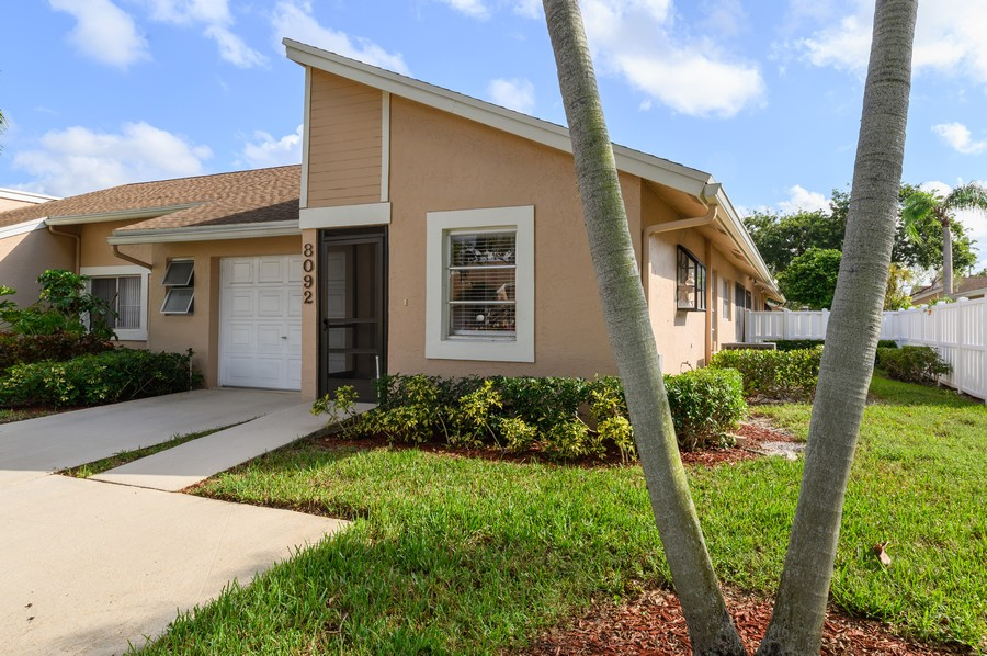 Real Estate Photography - 8092 Sweetbriar Way, Boca Raton, FL, 33496 - Front View