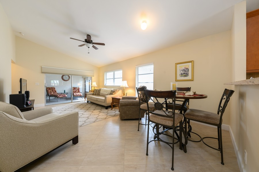 Real Estate Photography - 8092 Sweetbriar Way, Boca Raton, FL, 33496 - Living Room / Dining Room