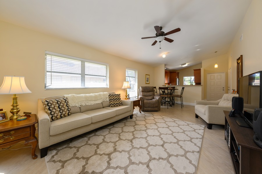 Real Estate Photography - 8092 Sweetbriar Way, Boca Raton, FL, 33496 - Living Room/Dining Room