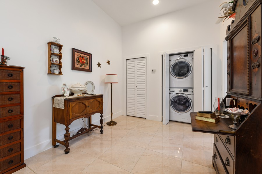 Real Estate Photography - 17341 Bermuda Village Dr, Boca Raton, FL, 33487 - Laundry Room