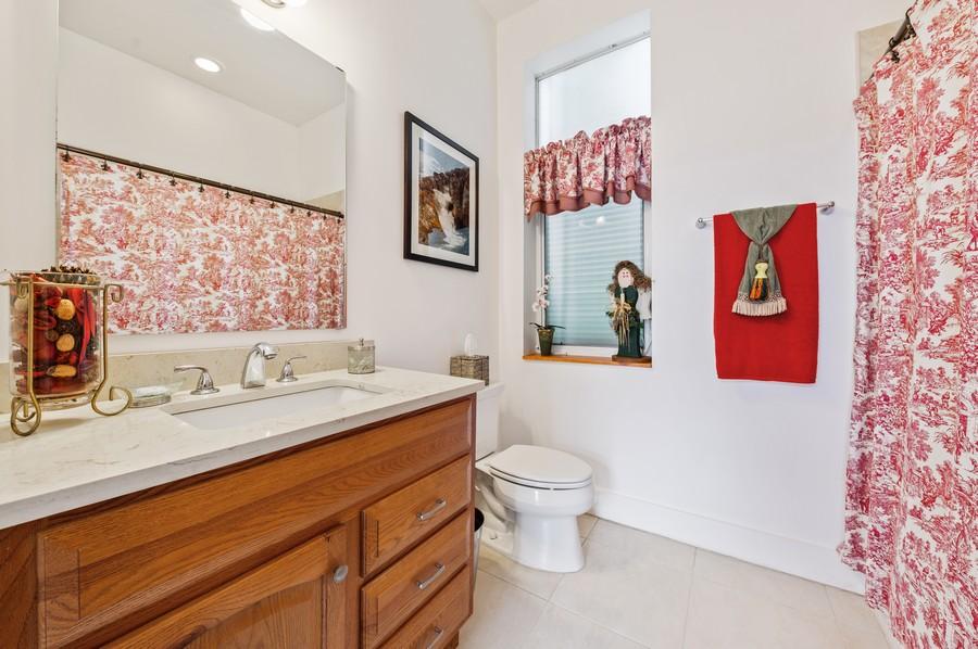 Real Estate Photography - 17341 Bermuda Village Dr, Boca Raton, FL, 33487 - Guest House Bathroom