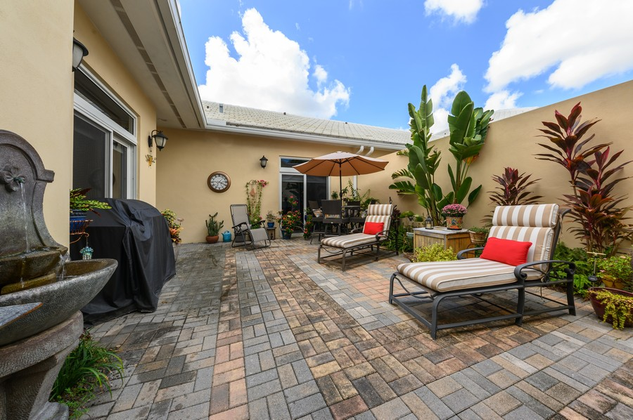 Real Estate Photography - 17341 Bermuda Village Dr, Boca Raton, FL, 33487 - Patio