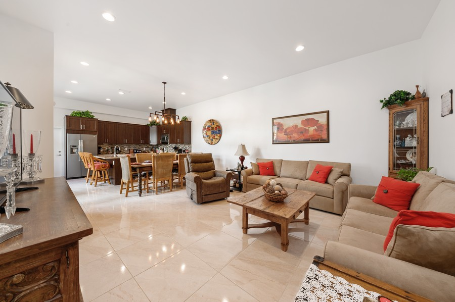 Real Estate Photography - 17341 Bermuda Village Dr, Boca Raton, FL, 33487 - Living Room / Dining Room