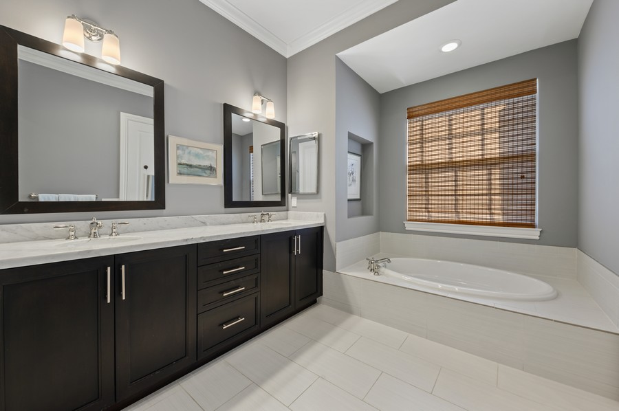Real Estate Photography - 135 N Cannery Row Circle, Delray Beach, FL, 33444 - Master Bathroom