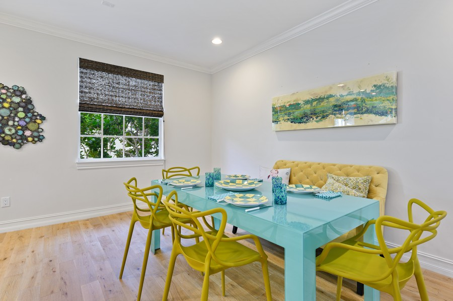 Real Estate Photography - 135 N Cannery Row Circle, Delray Beach, FL, 33444 - Dining Room