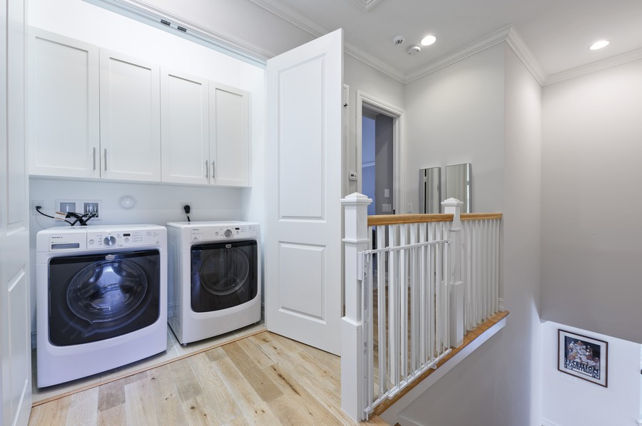 Real Estate Photography - 135 N Cannery Row Circle, Delray Beach, FL, 33444 - Laundry Room