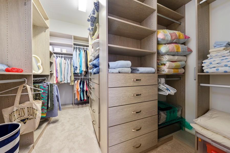 Real Estate Photography - 135 N Cannery Row Circle, Delray Beach, FL, 33444 - Master Bedroom Closet