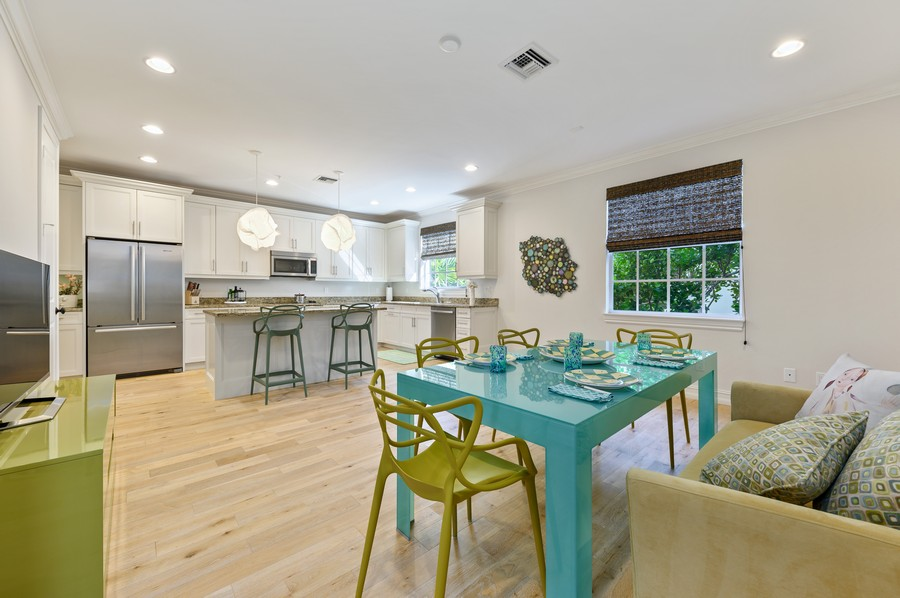 Real Estate Photography - 135 N Cannery Row Circle, Delray Beach, FL, 33444 - Kitchen / Dining Room