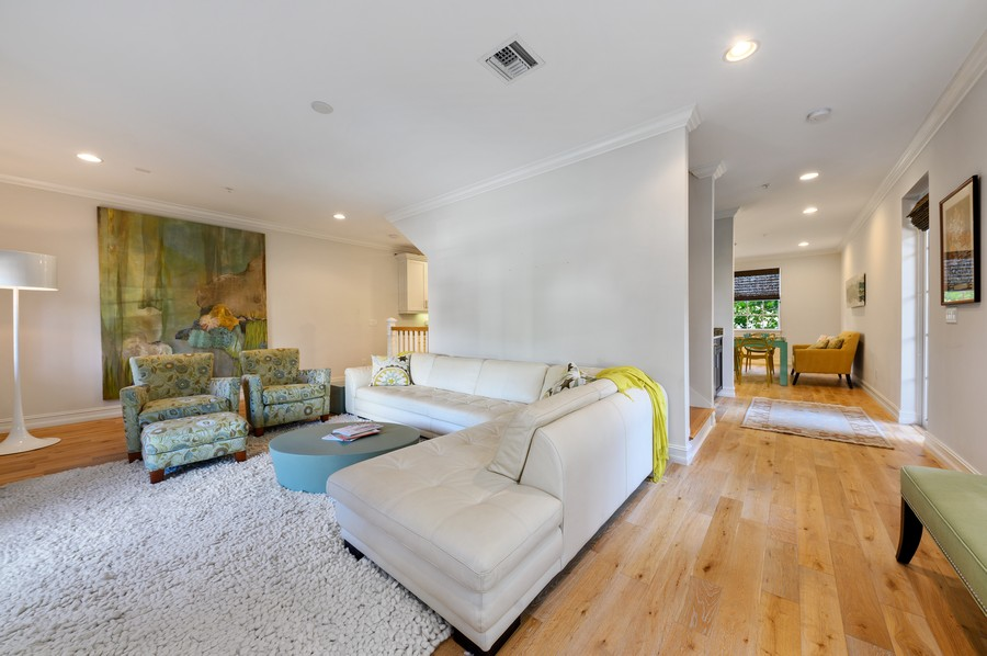 Real Estate Photography - 135 N Cannery Row Circle, Delray Beach, FL, 33444 - Living Room / Dining Room