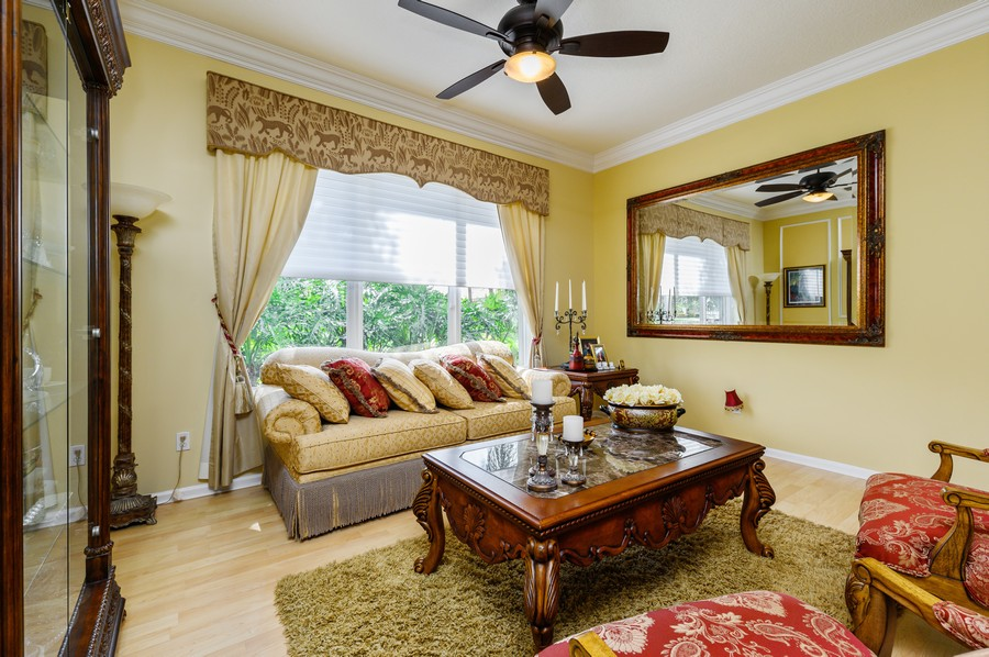 Real Estate Photography - 7581 Lake Harbor Terrace, Lake Worth, FL, 33467 - Living Room