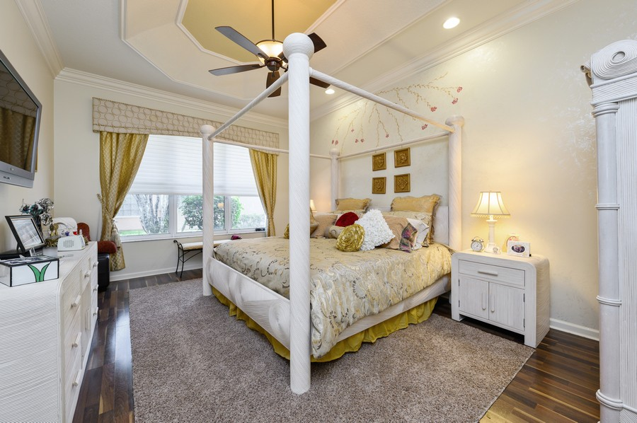Real Estate Photography - 7581 Lake Harbor Terrace, Lake Worth, FL, 33467 - Master Bedroom