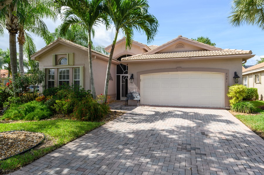 Real Estate Photography - 7581 Lake Harbor Terrace, Lake Worth, FL, 33467 - Front View