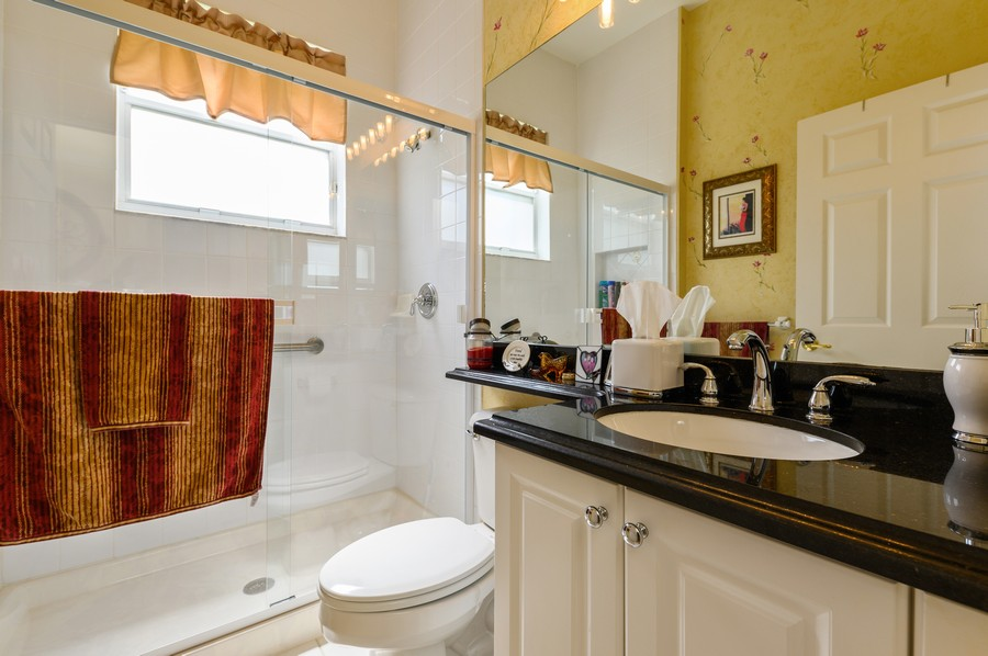 Real Estate Photography - 7581 Lake Harbor Terrace, Lake Worth, FL, 33467 - Bathroom