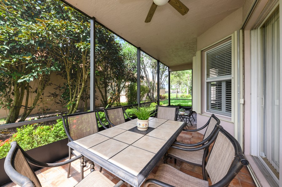 Real Estate Photography - 7581 Lake Harbor Terrace, Lake Worth, FL, 33467 - Patio