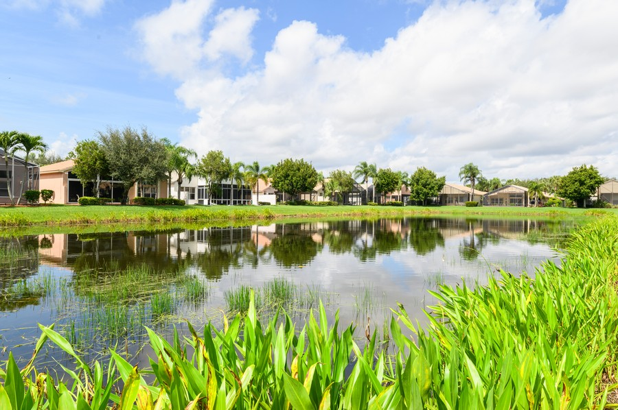 Real Estate Photography - 7581 Lake Harbor Terrace, Lake Worth, FL, 33467 - Lake View