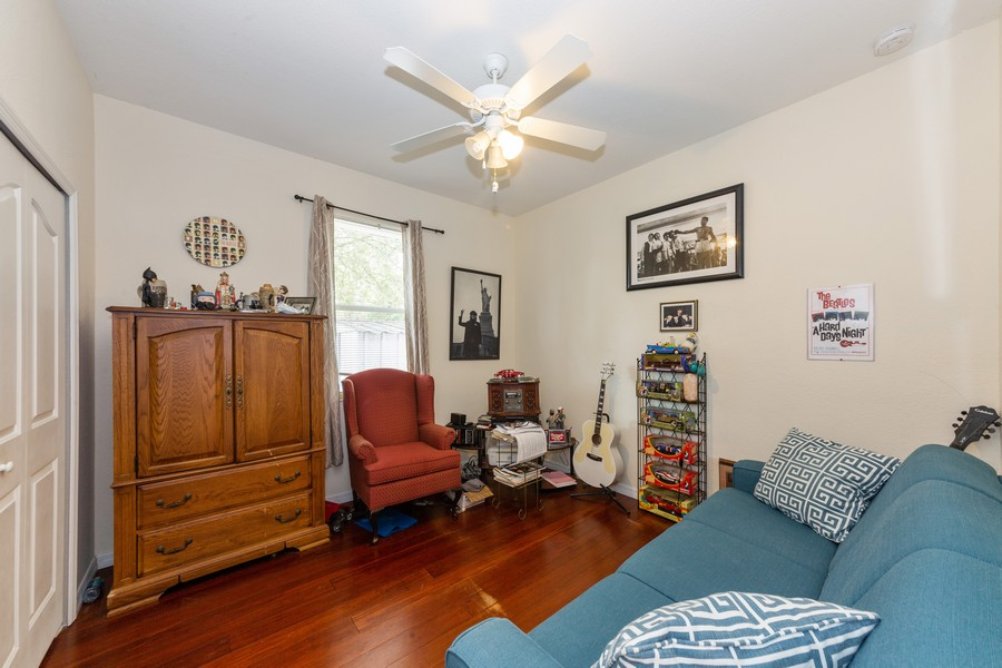 Real Estate Photography - 3475 Lotus Rd, North Port, FL, 34291 - 3rd Bedroom
