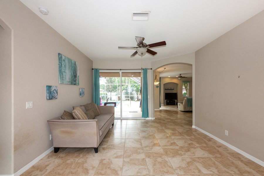 Real Estate Photography - 3475 Lotus Rd, North Port, FL, 34291 - Living Room