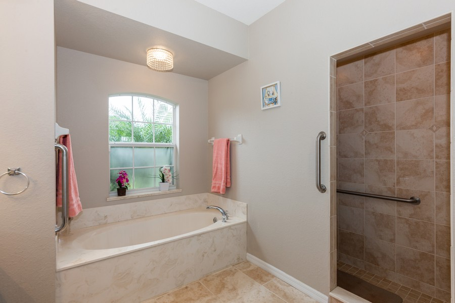 Real Estate Photography - 3475 Lotus Rd, North Port, FL, 34291 - Master Bathroom