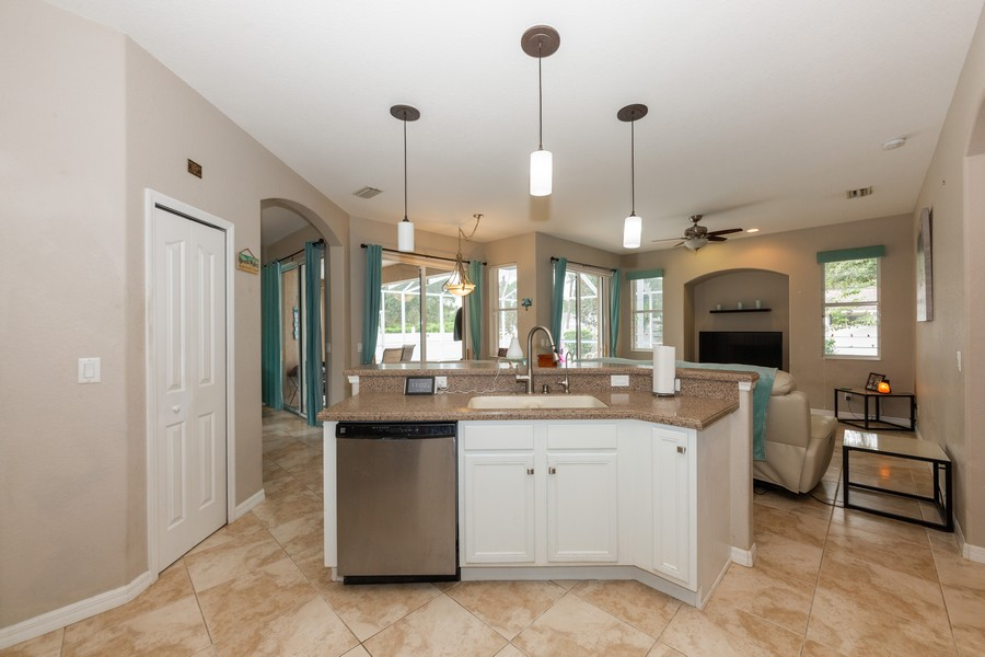 Real Estate Photography - 3475 Lotus Rd, North Port, FL, 34291 - Kitchen