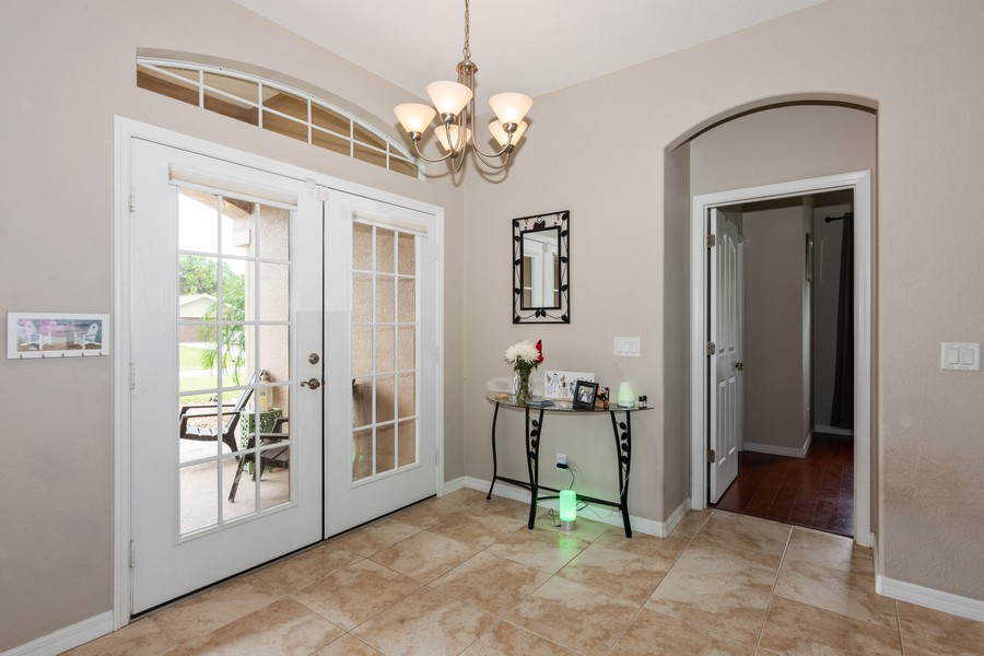 Real Estate Photography - 3475 Lotus Rd, North Port, FL, 34291 - Foyer