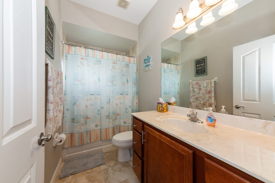 Real Estate Photography - 3475 Lotus Rd, North Port, FL, 34291 - 2nd Bathroom
