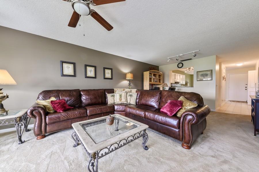 Real Estate Photography - 5912 Via Delray, B, Delray Beach, FL, 33484 - Living Room
