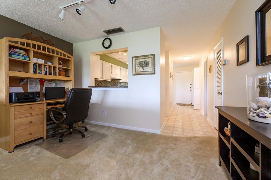 Real Estate Photography - 5912 Via Delray, B, Delray Beach, FL, 33484 - Foyer/Dining Room