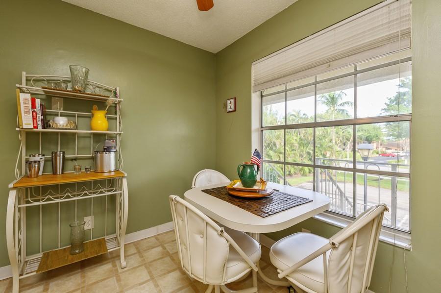 Real Estate Photography - 5912 Via Delray, B, Delray Beach, FL, 33484 - Breakfast Area
